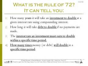 The Rule Of 72 Worksheet Answers by Rule Of 72 Worksheet Answers 28 Images Rule Of 72