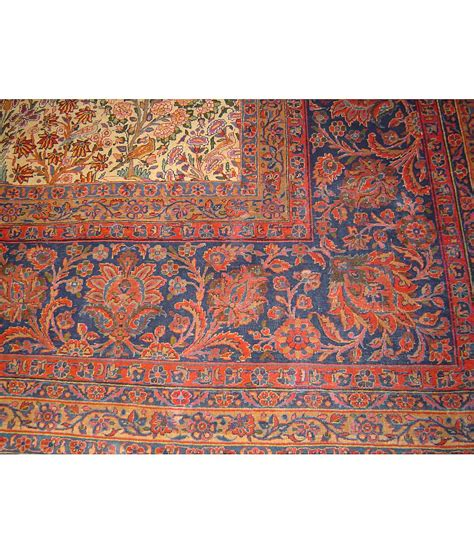 hri rugs one of a collection design kashan 434237 ivory hri rugs harounian rugs international