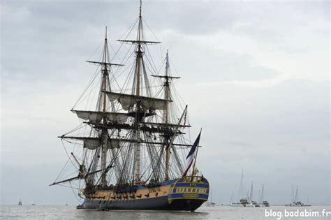 hermione bateau visite hermione de retour en france les enfants visiter le navire