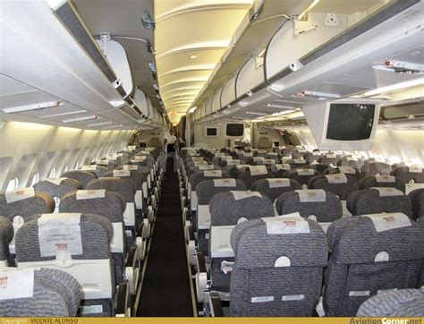 Airbus A340 300 Interior by Aviationcorner Net Aircraft Photography Airbus A340 313