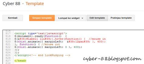 membuat link kategori cara membuat efek jquery link nudging pada label blog