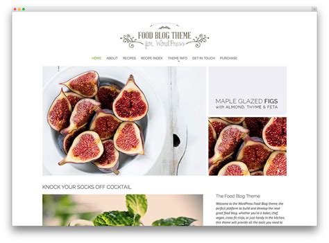cooking blogs 20 awesome food wordpress themes to share recipes 2017