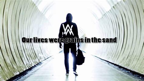 alan walker lyrics alone alan walker stand alone lyrics youtube