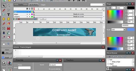 membuat video animasi gratis aneka info sofware untuk membuat animasi flash gratis