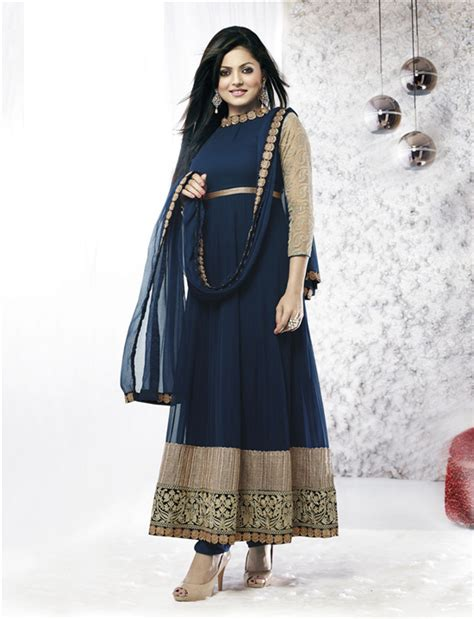 Id Split Ethnic Dress simplesarees designer madhubala drashti dhami