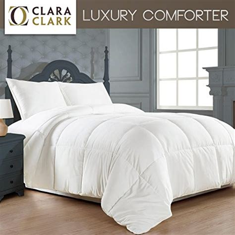 clara clark alternative goose comforter plush
