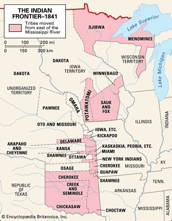 american movement map answers indian removal act united states 1830 britannica