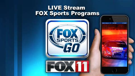 fox sports go app for android the fox sports go app wluk