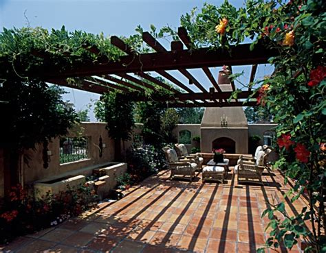 Tuscan Backyard Landscaping Ideas Tuscan Style Courtyard Source Unknown Landscaping Pinterest