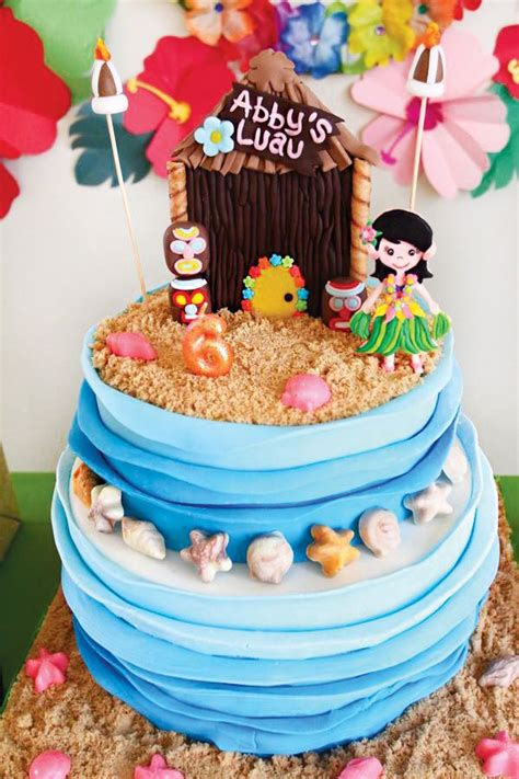 Compare Price To Oasis Cake 17 Best Ideas About Luau Birthday Cakes On