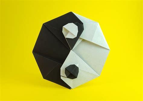 Origami Yin Yang - origami yin yang gilad s origami page