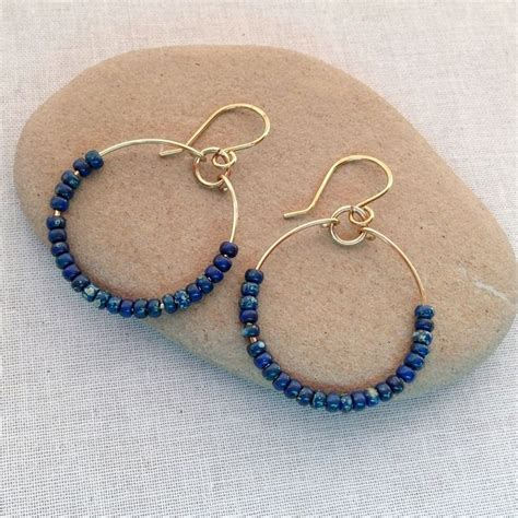 Handmade Jewelry Blogs - 5 diy jewelry projects with handmade wire hoops handmade