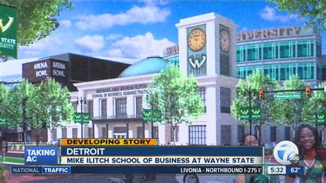 Wayne State College Mba Reputation by New Building For Mike Ilitch School Of Business At Wayne