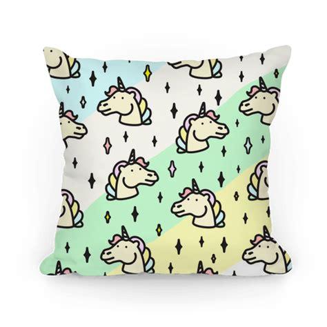 pastel unicorn pattern cute pastel unicorn pattern throw pillow human