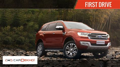 A Brand New Endeavor by 2015 Ford Endeavour Exclusive Drive Cardekho