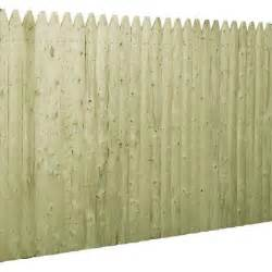 home depot wood fence panels barrette 6 ft x 8 ft pressure treated spruce pine fir 3