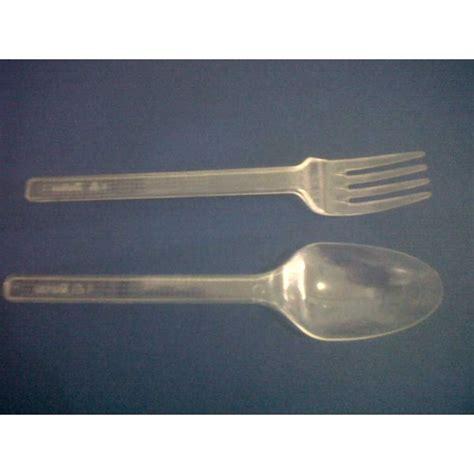 Sendok Garpu Bening Plastik jual sendok plastik bening transparan oleh jaya plastik di