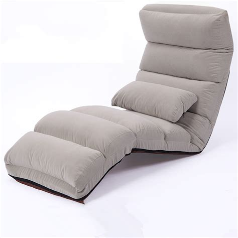 Lounge Chair Bed by Aliexpress Buy Floor Folding Chaise Lounge Chair