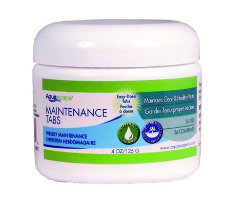 aquascape maintenance pastilles d entretien pour la sant 233 et la propret 233 de
