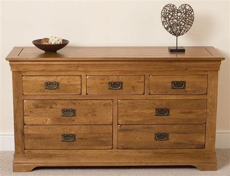 Chateau Chest Of Drawers by Chateau Oak Chest Of Drawers Seven Free Uk Delivery