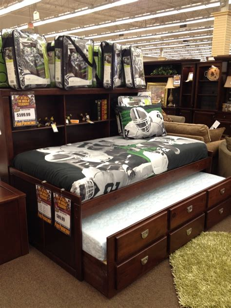 Perfect For A Boy S Room Captain S Bed Storage Trundle Beds For Boy And