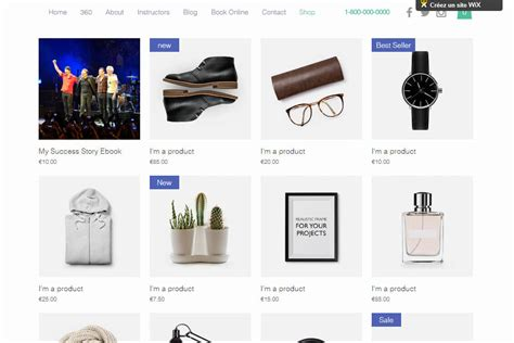 wix ecommerce review is the online store any good