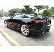 Black Lexus LFA For Sale In The UK Whats Wrong With
