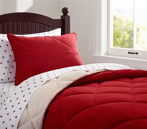 Cozy Comforters by Cozy Plush Comforter Sham Pottery Barn