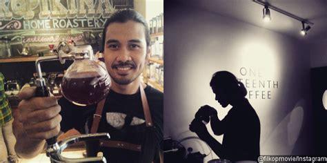 resume film filosofi kopi chico jericho jadi barista tamu di kedai kopi untuk
