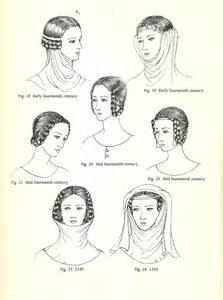 anglo saxon hairstyles hair fashion women hairstyle medieval mediumaevum