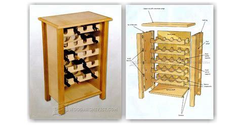 Wine Rack Table Plans by Wine Rack Table Plans Woodarchivist