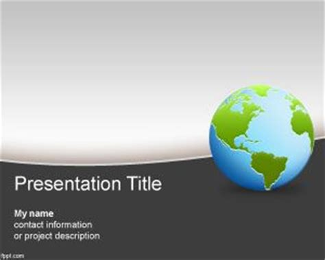 Geography Powerpoint Template Geography Powerpoint Templates