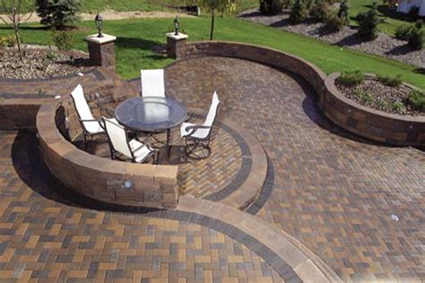 Ideas Design For Brick Patio Patterns Backyard Patio Ideas For The Outdoor More Functional Traba Homes