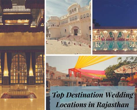 Top Destination Wedding Locations in Rajasthan