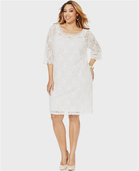 White Lace Dress white lace dress with sleeves plus size naf dresses
