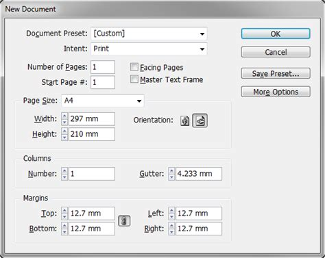 creating indesign master page vertical master page spreads indesignsecrets