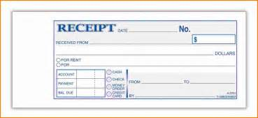 Rental Payment Receipt Template 7 Receipt For Payment Expense Report