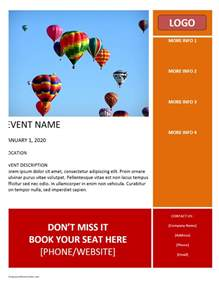 Flier Templates by Flyer Freewordtemplates Net