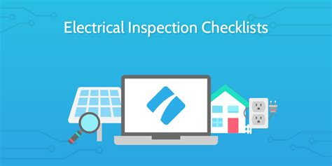 8 electrical inspection checklists to keep your workspaces