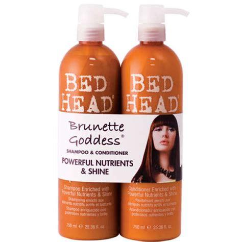 bed head colour goddess tigi bed head colour combat brunette goddess tween duo 2
