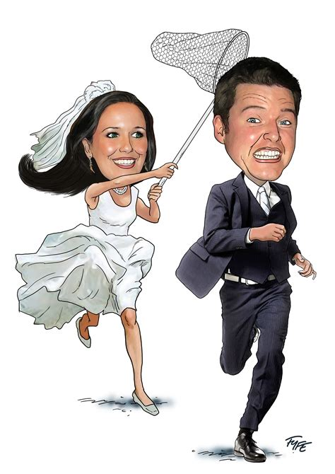 wedding invitations caricature drawings live caricatures caricature artist for weddings