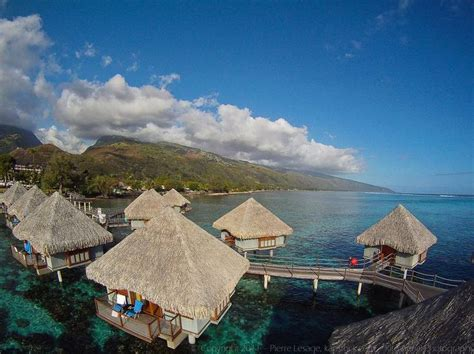 south pacific overwater bungalows tahiti places i d like to go