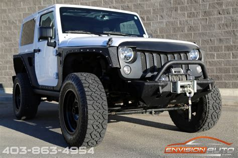 Jeep Wrangler Rubicon Lifted 2015 Jeep Wrangler Rubicon Lifted Custom Only 20kms