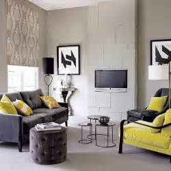 Living Room Yellow Color Scheme Modern Living Room With Grey Color D S Furniture