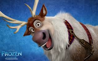 Sven the reindeer from disney s frozen wallpaper click picture for