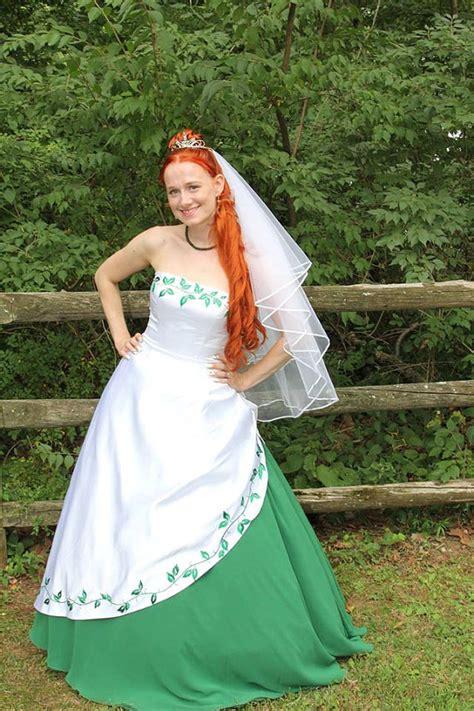 white and green wedding dresses stunning white and green wedding dress with by
