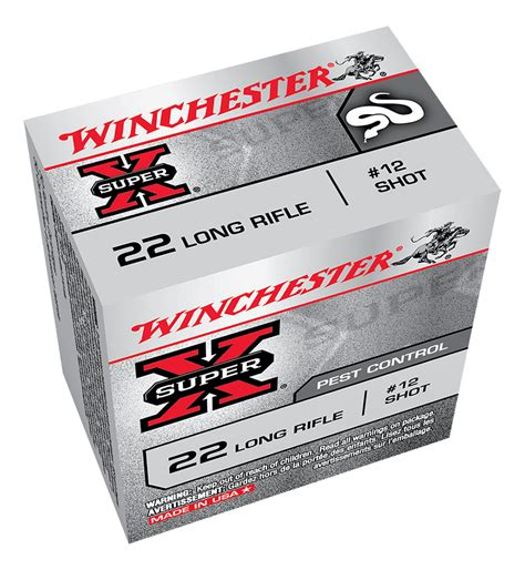 22 long rifle rat shot winchester australia winchester super x rat shot 22lr 12