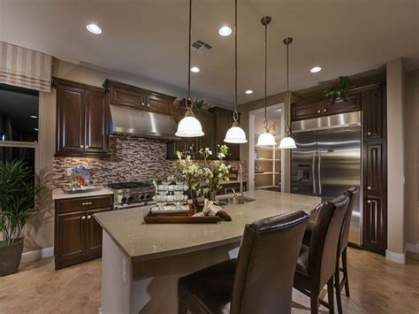 interior design for new construction homes kidney shaped kitchen sink pulte model homes virtual tour