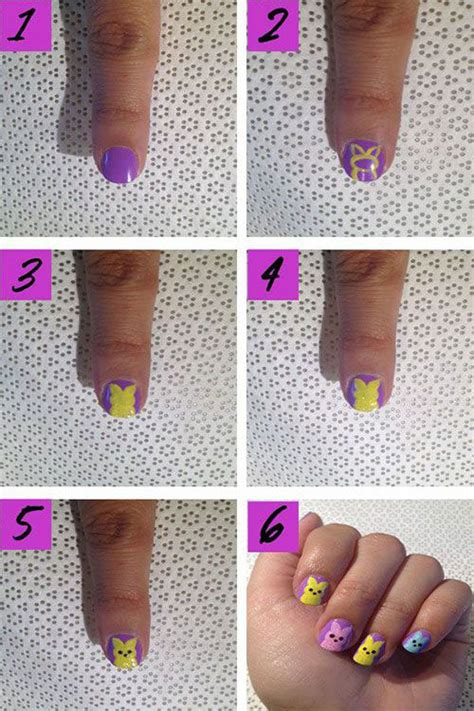 nail art easter tutorial 18 easter nail art tutorials for beginners learners