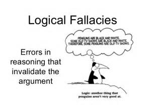 Logical Fallacy Essay Exles by Logical Fallacies Ms O S Rhetoric Argumentation Site